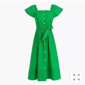 J CREW Kelly Green dress (Size 8)